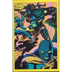 Dr. Strange and Eternity (Marvel black light card)
