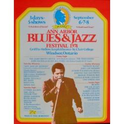 Ann Arbor Blues and Jazz Festival 1974