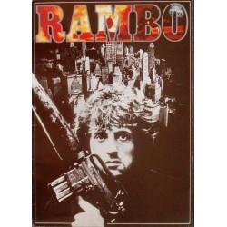 Rambo First Blood (Japanese Press Book)