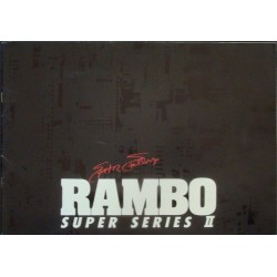 Rambo 2 (Japanese Press Book)