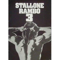 Rambo 3 (Japanese Press Book)