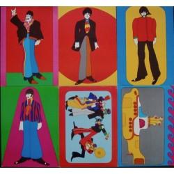 Yellow Submarine (British cards set of 6)