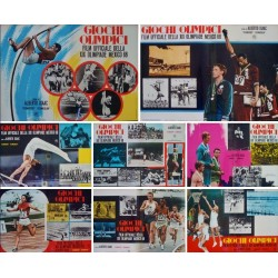 Olympics In Mexico (Fotobusta set of 8)