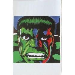Hulk: Angry close up