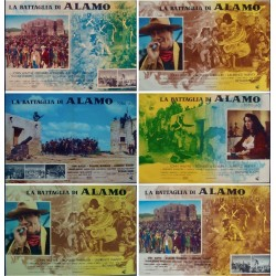 Alamo (fotobusta set of 6)