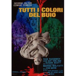 All The Colors Of The Dark - They're Coming To Get You (Italian 1F style A)