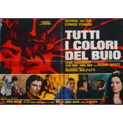 All The Colors Of The Dark - They're Coming To Get You (Italian 1F style B)