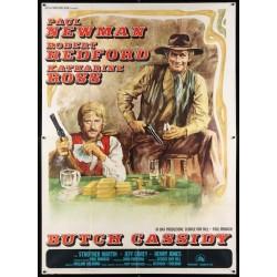 Butch Cassidy And The Sundance Kid (Italian 4F R74)