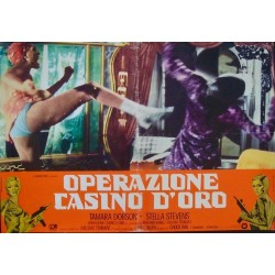 Cleopatra Jones And The Casino Of Gold (fotobusta set of 8)