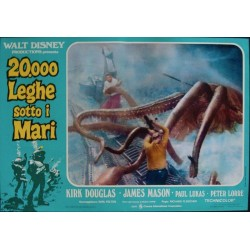 20000 Leagues Under The Sea (R73 fotobusta set of 8)