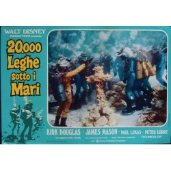 20000 Leagues Under The Sea (R73 fotobusta set of 8)
