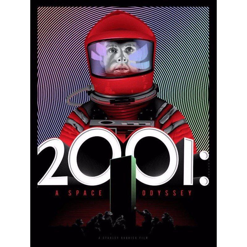 2001 A Space Odyssey (R2019 Red foil variant-2)