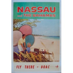 BOAC Nassau And The Bahamas (1958 - LB)