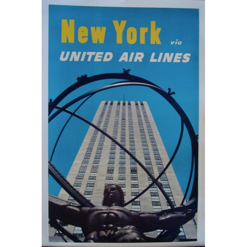 United Airlines New York (1962 - LB)