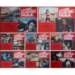 Return Of The Incredible Hulk (fotobusta set of 8)