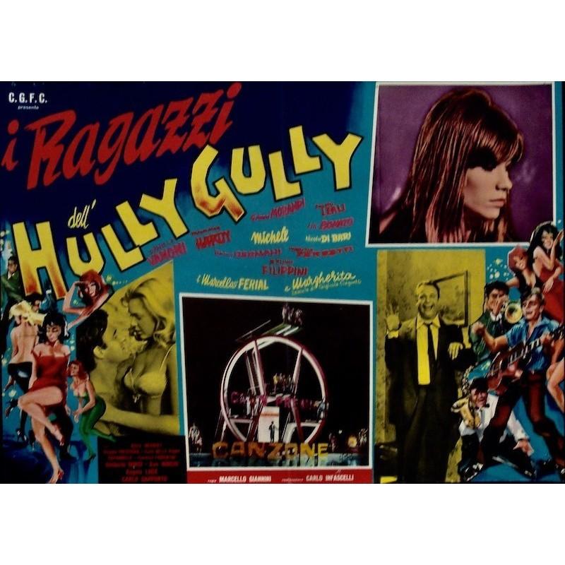 i ragazzi dell'Hully-Gully (fotobusta 1)
