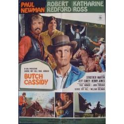 Butch Cassidy And The Sundance Kid (Italian 1F style A)