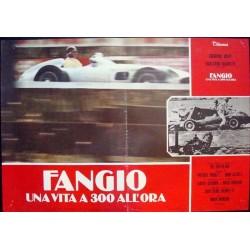 Fangio una vita a 300 all'ora (fotobusta set of 6)