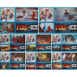 Fire And Ice (fotobusta set of 8)