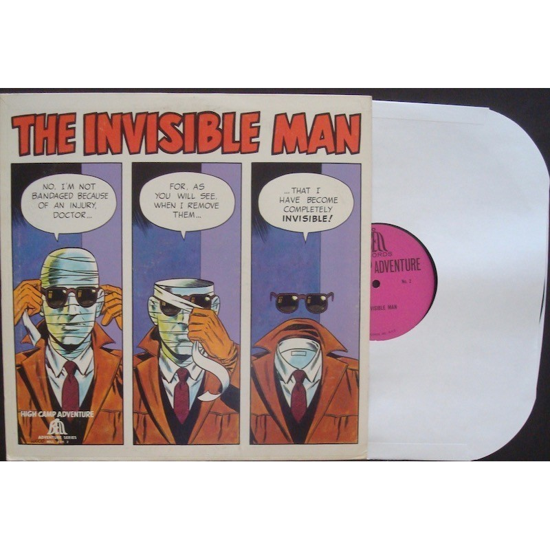 Invisible Man (High Camp Adventure)