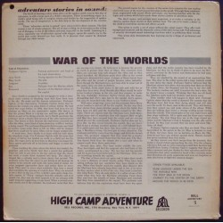 War Of The Worlds (High Camp Adventure)