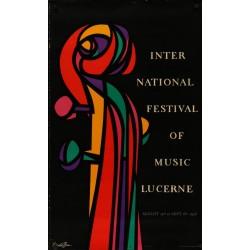 Lucerne International Music Festival 1956