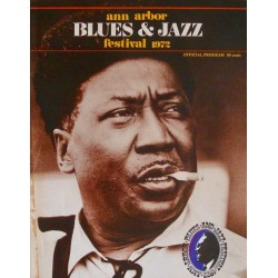 Ann Arbor Blues and Jazz festival 1972 (program)