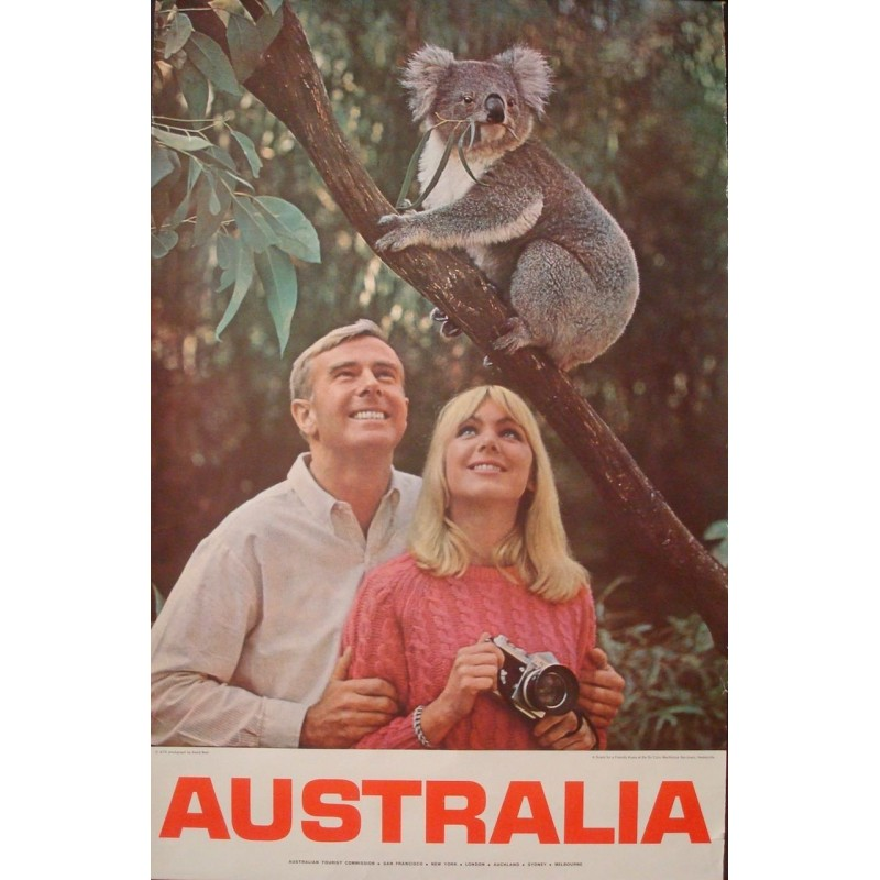 Australia: Snack For A Friendly Koala (1971)