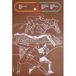 Moscow 1980 Olympics Pentathlon
