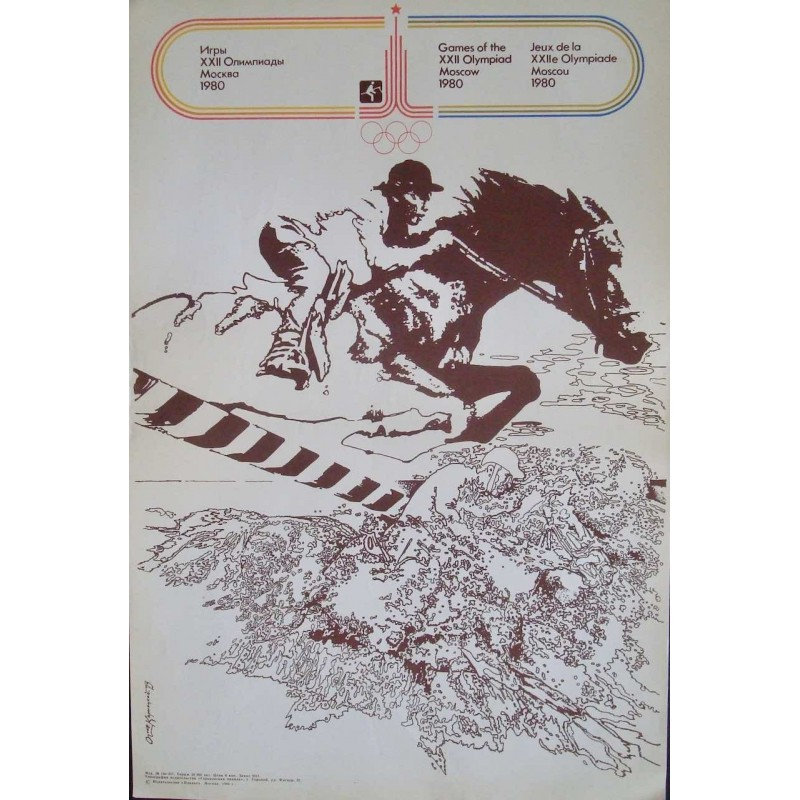 Moscow 1980 Olympics Equestrian