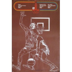 Moscow 1980 Olympics Basketball