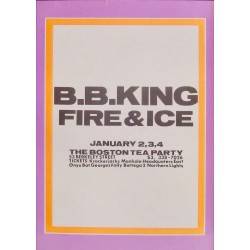 B.B. King: Boston 1969 (Handbill)