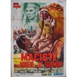 Maciste In King Solomon's Mines (Italian 2F)
