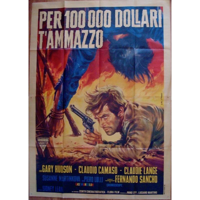 10000 $ For A Massacre (Italian 4F)