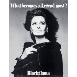 Blackglama Sophia Loren...