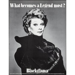 Blackglama Lucille Ball...