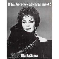 Blackglama Elizabeth Taylor...
