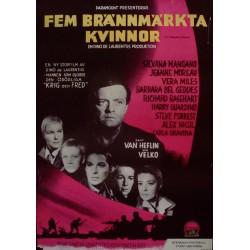 Five Branded women (Swedish)