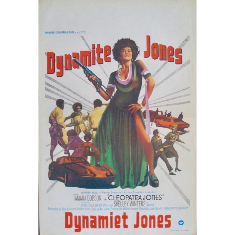 Cleopatra Jones Belgian Movie Poster Illustraction Gallery