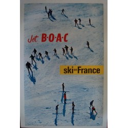 BOAC Ski en France (1962 - LB)