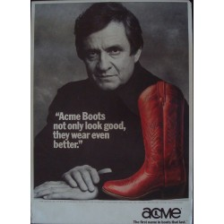 Acme Boots: Johnny Cash (1983)