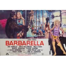 Barbarella (Fotobusta 9)