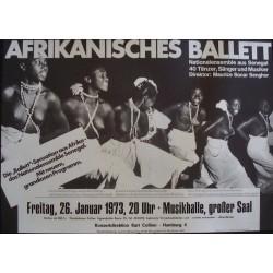 African Ballet: Hamburg 1971