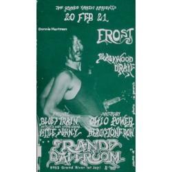 Frost: Detroit 1970 (Handbill)
