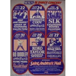 Bo Diddley: Detroit 1983