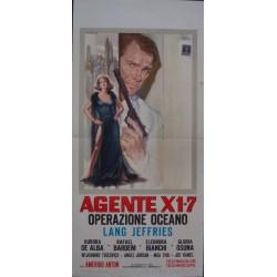 Agente X1-7 Operazione Oceano (Locandina)