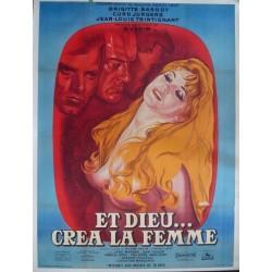 And God Created Woman - Et Dieu crea la femme (French Grande - LB)