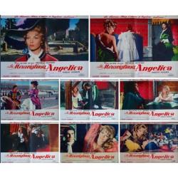 Angelique et le Roy (fotobusta set of 8)