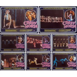 Crazy Horse de Paris (Fotobusta set of 8)