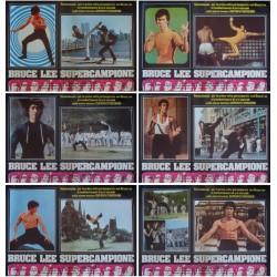 Bruce Lee: The Man The Myth (Fotobusta set of 6)